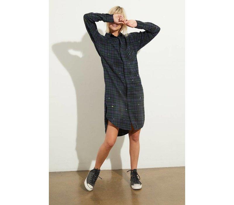 NSF Rhodes L/S Button Up Dress