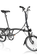 2020 Brompton H6R Graphite Metallic w/upgrades