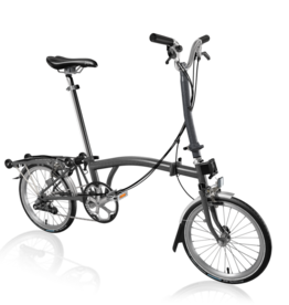 2020 Brompton H6R Graphite Metallic w/upgrades