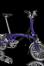 2019 Brompton M6L Purple Metallic