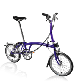 2019 Brompton M6L Purple Metallic