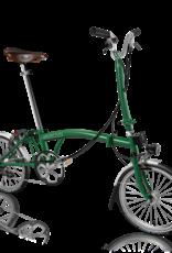 2020 Brompton H6L Racing Green w/SP Dynamo Lighting