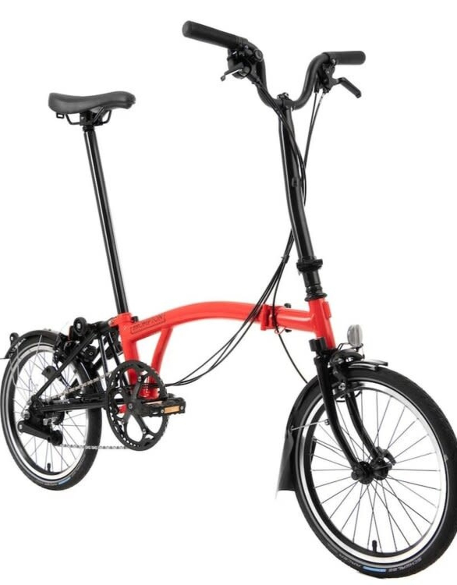 2020 Brompton H6L Black Edition Rocket Red