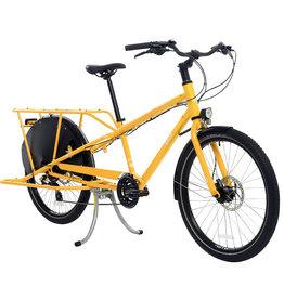 Yuba Mundo Lux Cargo Bike Gold