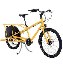 Yuba Yuba Mundo Lux Cargo Bike Gold