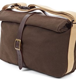 Brompton Roll Top Bag Waxed Canvas