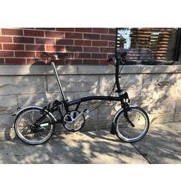 2020 Brompton S1L Black (3-SP OPTION AVAILABLE)