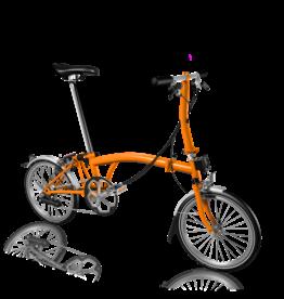 2021 Brompton S6L Orange