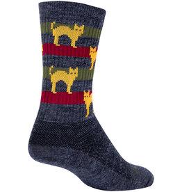 SockGuy SockGuy Wool Catz Socks L/XL