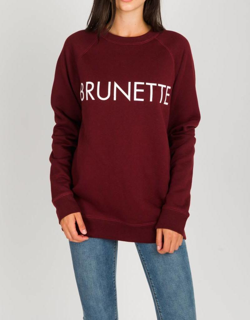 Brunette Brunette Crew