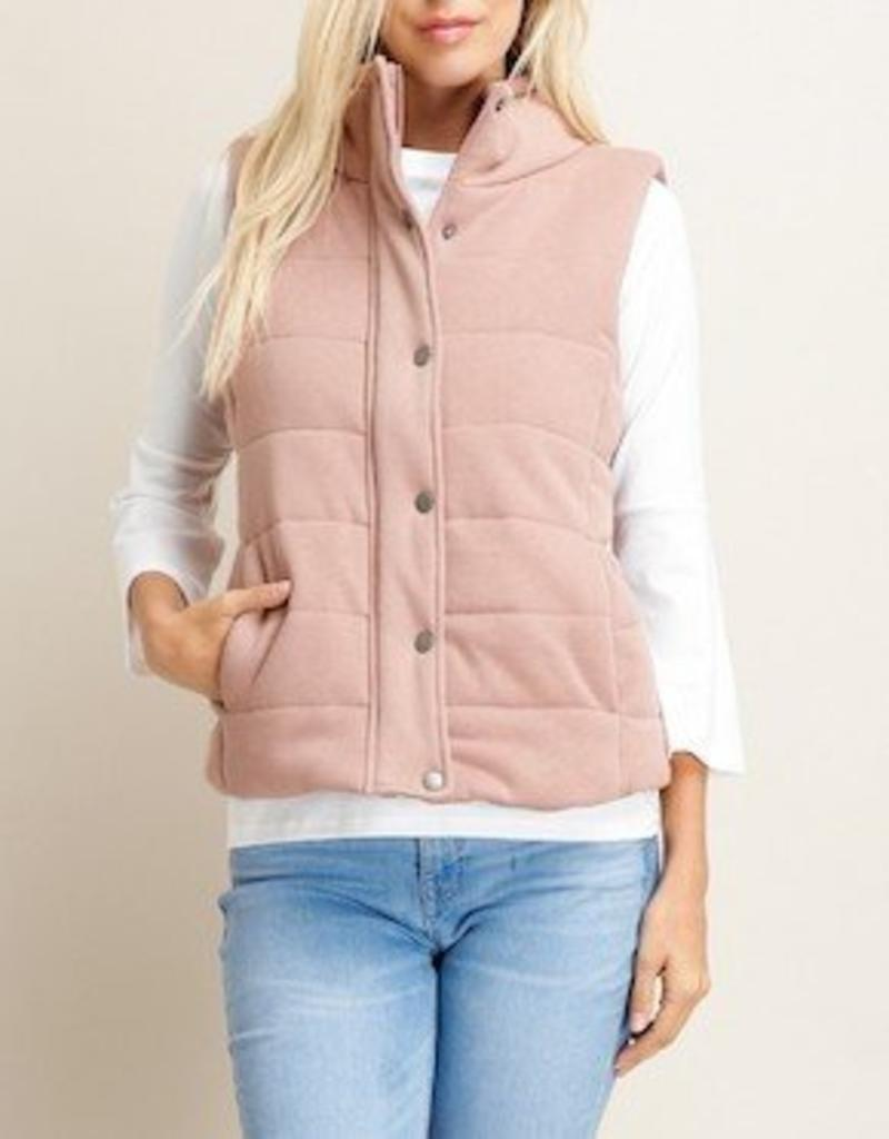 LOSA PADDED ZIP UP VEST -