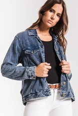 Knit Denim Jacket