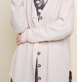 LOSA Button Thermal Cardigan -