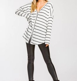 LOSA Scoop hi-lo V-Neck -