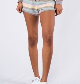 Rainbow Striped Short