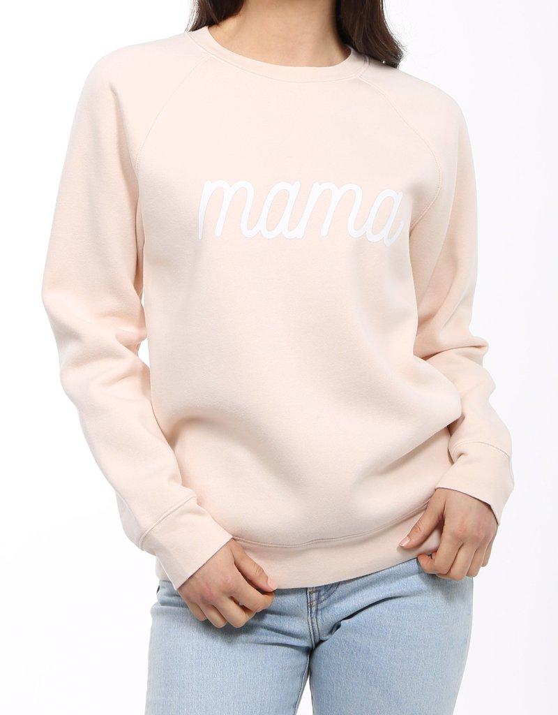 Brunette mama crew