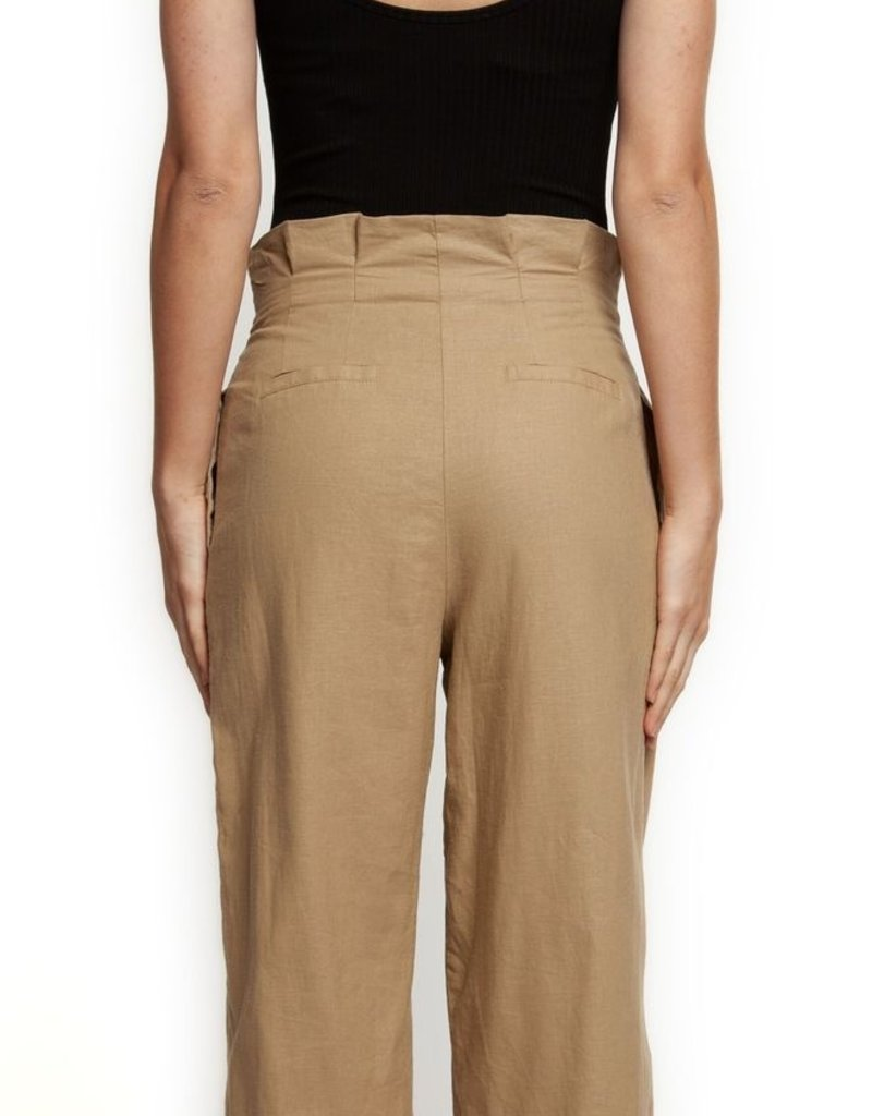 Dex WIDE LEG PANT W/PLEATS -