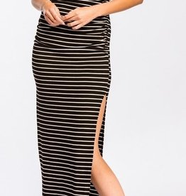 LOSA Ribbed Side Ruching
