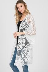 LOSA Lace Kimono