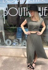 LOSA Hi Low Two Piece