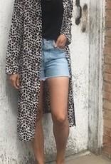 LOSA Leopard Duster Kimono
