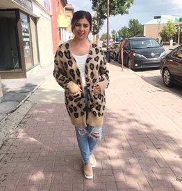 LOSA Leopard Cardigan