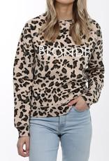 Brunette BLONDE leopard