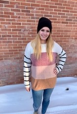 LOSA Colour Block Knit