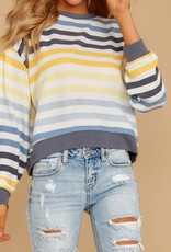 The Rainbow Stripe Pullover