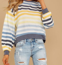 The Rainbow Stripe Pullover