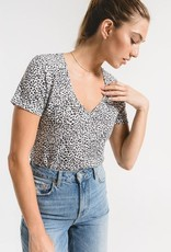 The Mini Leopard Vneck