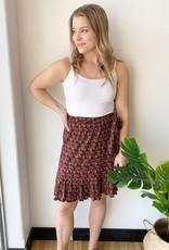 Dex Pleated Skirt with Sash