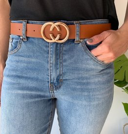 LOSA Double C Buckle Belt
