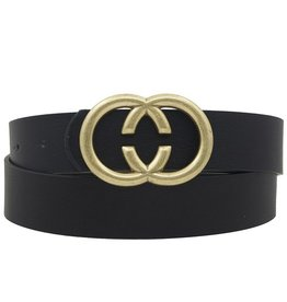 LOSA Double C Belt Worn Gold