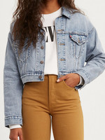 Levi's Crop Dad Trucker