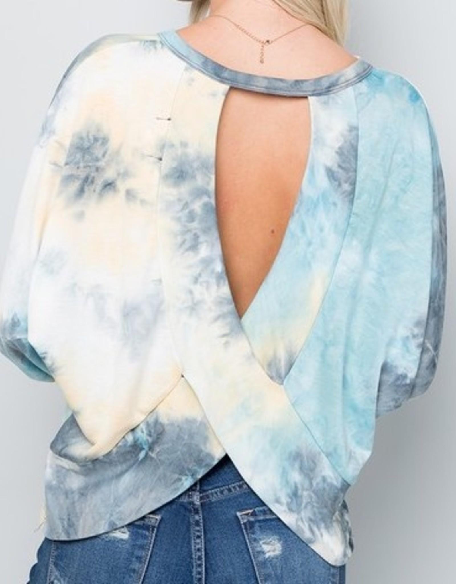 LOSA Tie Dye Open Back
