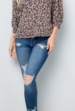 LOSA Leopard Open Back