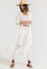 Textured Ribbed Duster