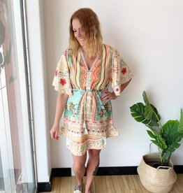 California Moonrise Tropical Boho Dress