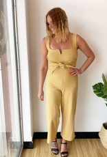 California Moonrise Striped Terry Jumpsuit
