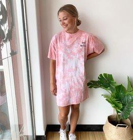 Brunette Juicy Boxy Tee Dress