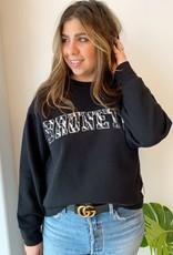 brunette the label Zebra Step Sis Brunette