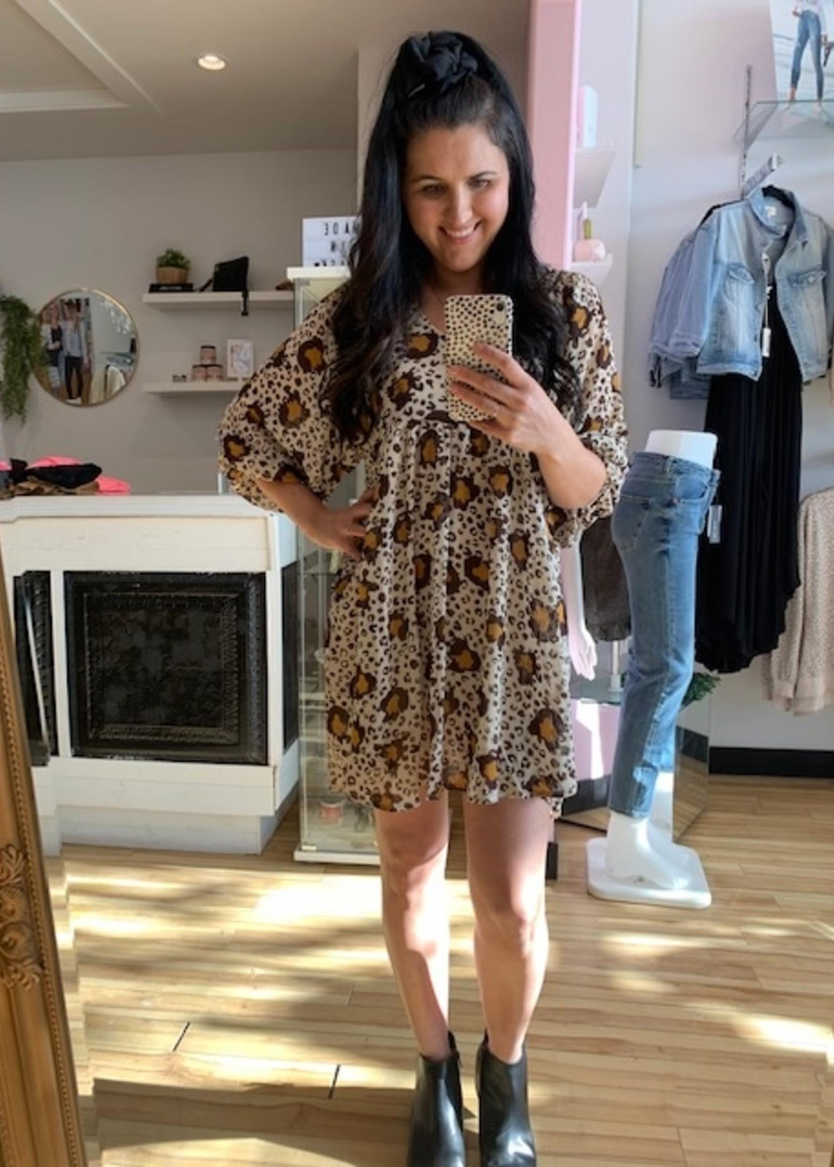 LOSA Lex Leopard Dress