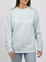 brunette the label Blonde Core Crew