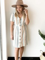 ONLY Ohio Striped Dress