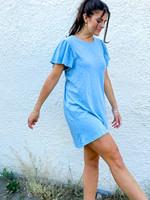 Sofia Cotton Slub Dress