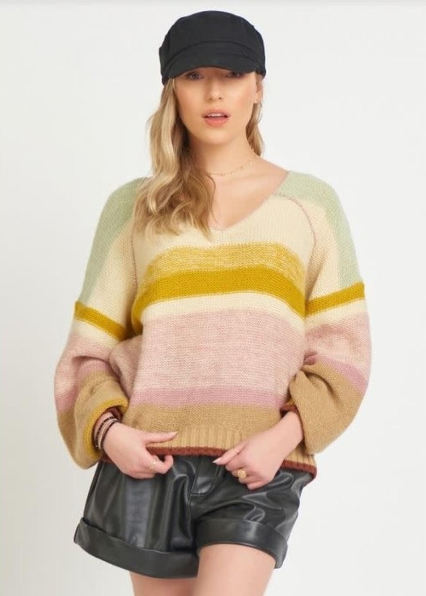 Dex Vneck Knit