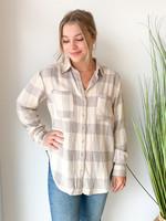 Dex Plaid Button Shirt