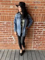 LOSA Oversized Denim Jacket