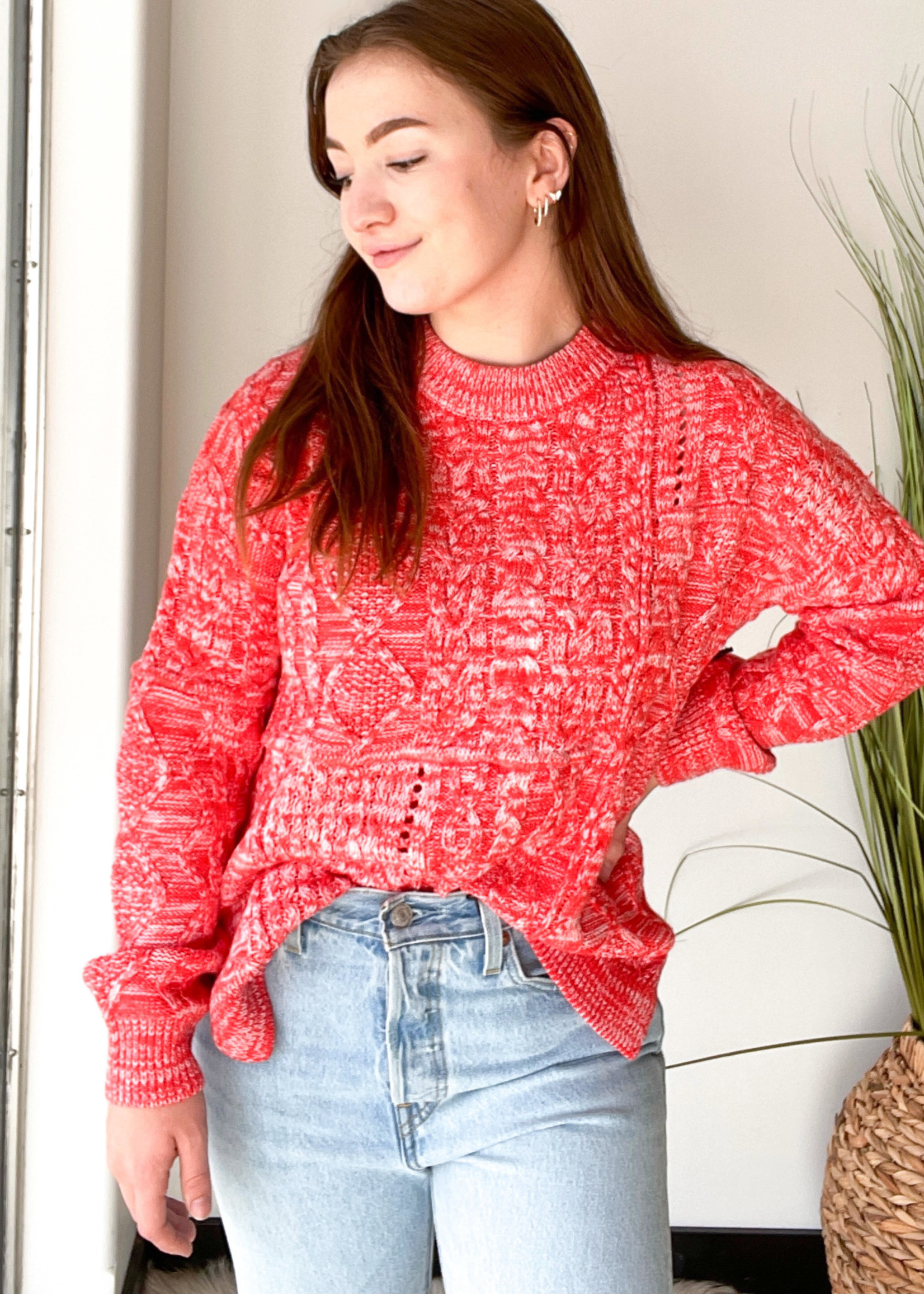 Dex Cable Knit Tunic